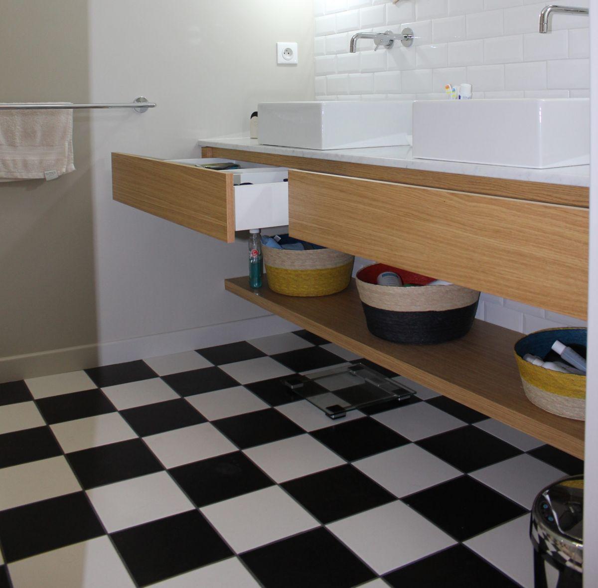 Mobilier salle de bain lidl id e inspirante pour la conception de la maison for Pose plan de travail cuisine